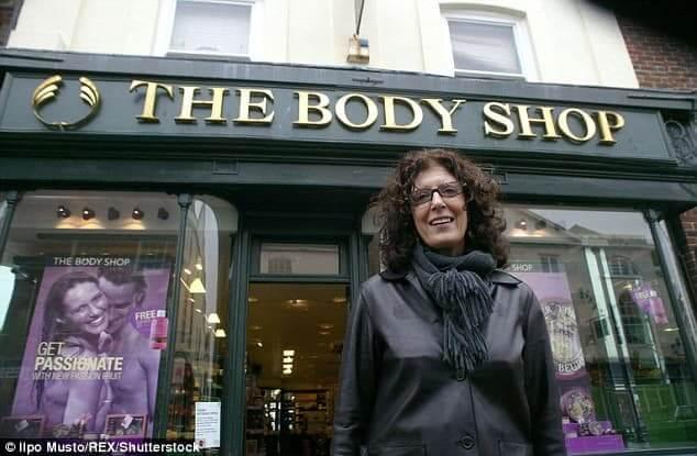Anita Roddick Kiikstart Lessons